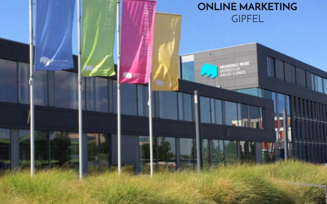 Mohammadi Akhabach als Speaker im Online Marketing Gipfel in Mainz